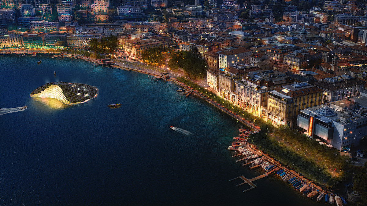 Rendering waterfront lugano by CRA carlo ratti isplora magazine