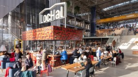 The LocHal: an urban living room in a train shed