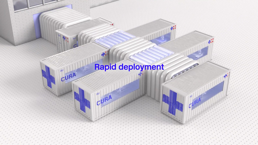 CURA open-source design for emergency COVID-19 hospitals0564