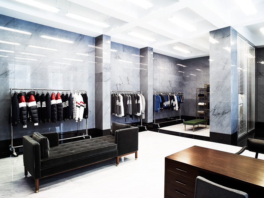 store THOM BROWNE LONDON LEANDRO FARINA photo asastudio design